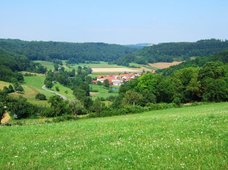 letzter Anstieg   - © Quelle: Hohenlohe + Schwäbisch Hall Tourismus e.V.