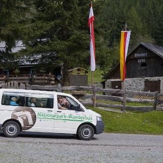 ideal, nicht nur für diese Tour: Der Nationalpark-Wanderbus