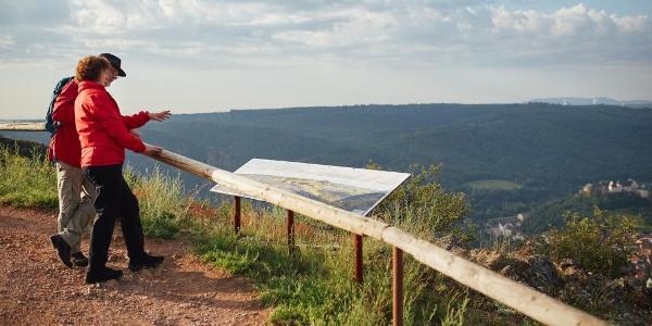 Aussichtpunkt auf dem Rotenfels