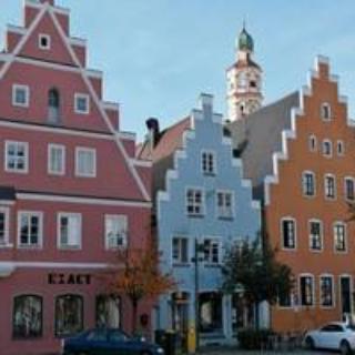 Stadtzentrum Schrobenhausen