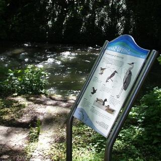 Echaz-Uferpfad