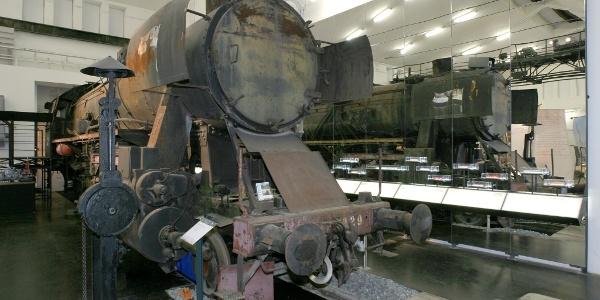 Lokomotive im SÜDBAHN Museum
