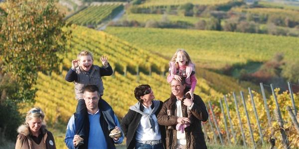 Wandern in Bad Dürkheim ist ein Spaß für die ganze Familie.