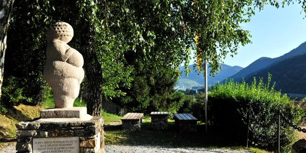 Fundstelle der Venus in Willendorf