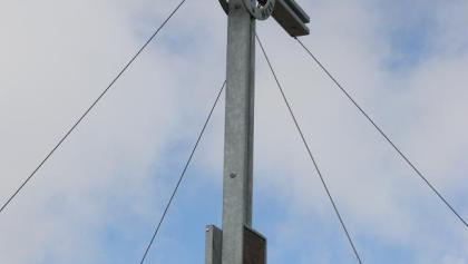 Schönes Gipfelkreuz auf der Rötenspitz 2481 m (Foto Walter Kaller)