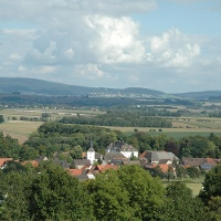 Blick vom Frankenberg