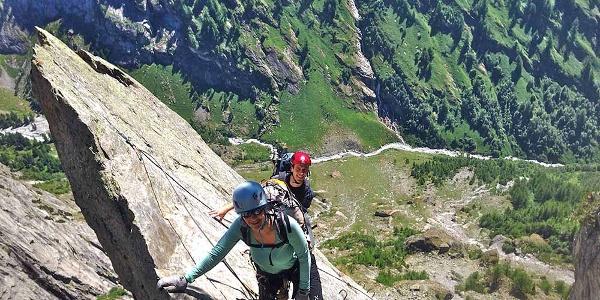 Klettersteig Baltschiedertal mit Aufstieg zur Wiwannihütte
