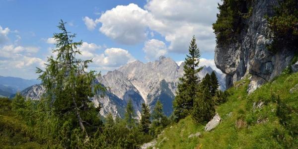 Aufstieg zum Kammerlinghorn