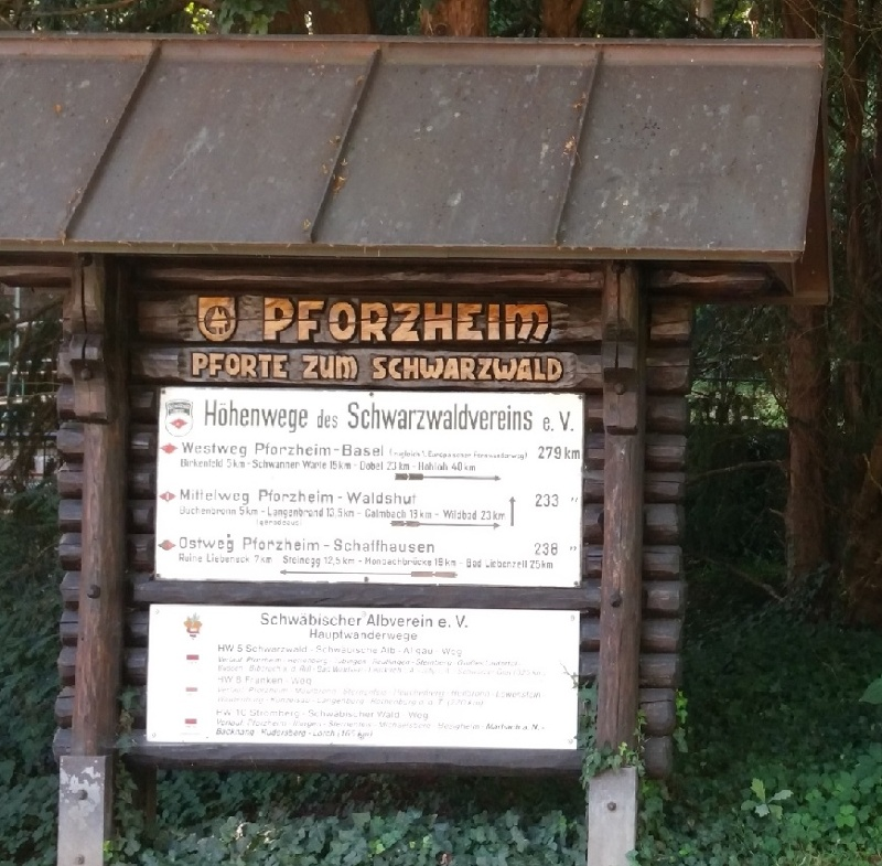 Ostweg Etappe 1: Pforzheim - Bad Liebenzell