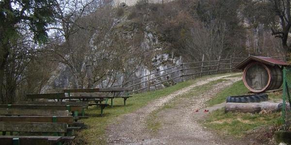 Ruine/Klettergarten Rabenstein