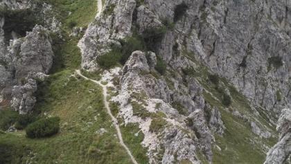 Aufstieg zur Dos della Torta