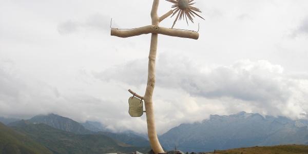 Kreuz auf der Filzmooshöhe