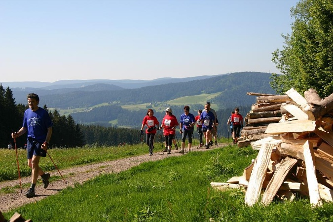 """Rotkreuztour"" in Lenzkirch"