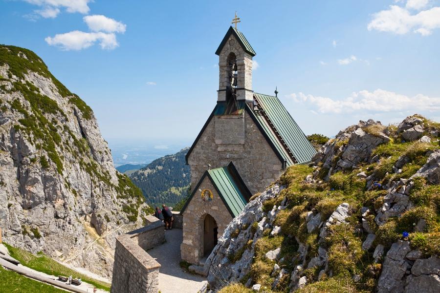 Wandern von Brannenburg aus - Bergtour zum Wendelstein über Aipl und die Mitteralm