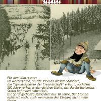 """Steilabfahrt """"Alte Sprungschanze"""""""