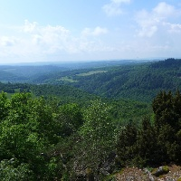 Blick ins Hahnenbachtal