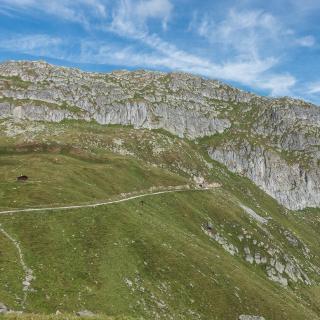 Auf dem Weg zur Platta am Aletsch-Gletscher