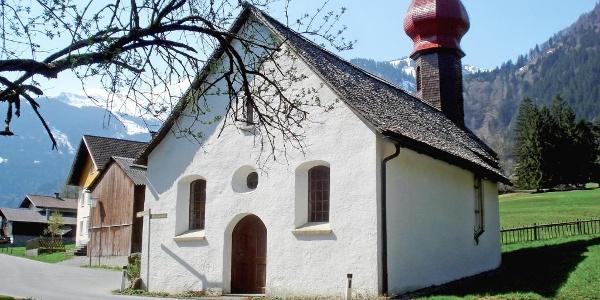 Wallfahrtskirchlein in Vens