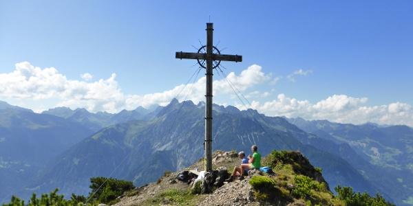 Gipfelkreuz der Davenna