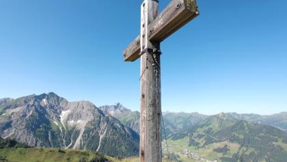 Gipfelkreuz Kuhgehrenspitze