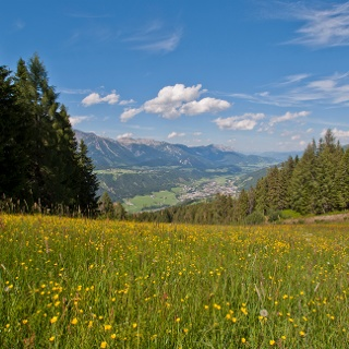 View from trail n° 60 towards Schladming