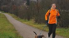 Laufen in der Dübener Heide