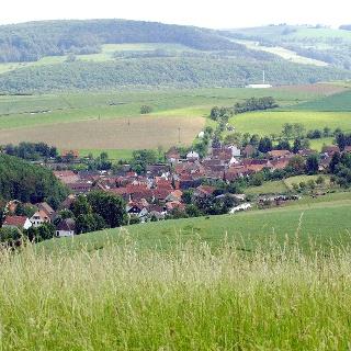 Dörnbach vom Wachthübel aus