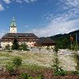 Das Schloss Elmau.