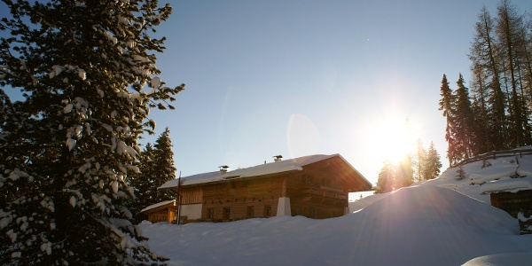 Auffangalm Winter