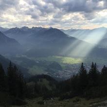 Blick auf Obersdorf