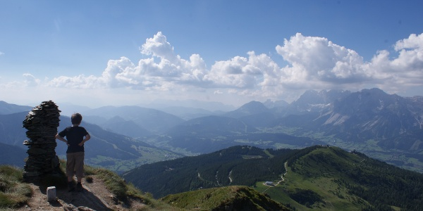 View from the summit of Krahbergzinken