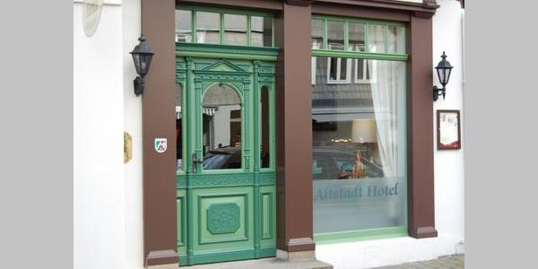 Eingang Altstadthotel Detmold