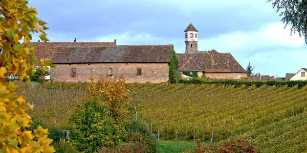 Kloster Heilsbruck im Herbst