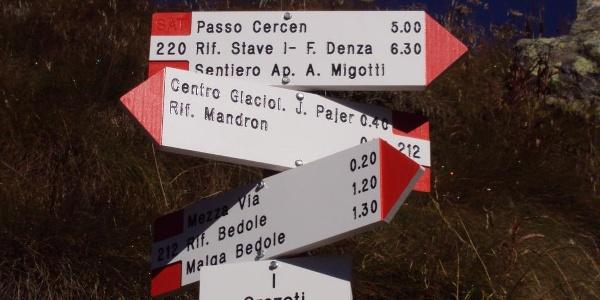 Trekking al Rifugio Città di Trento al Madron.