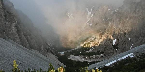 Blick von der Haindlkarhütte