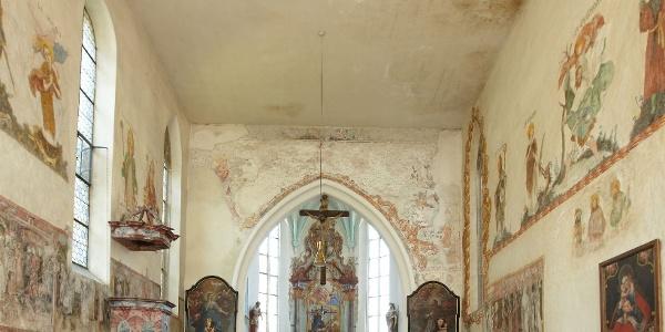 Innenansicht St. Jodokkapelle