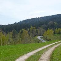 Blick nach Kalteck nach Lindenau