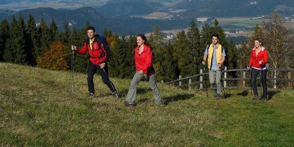 Wandern am Vierbergeweg