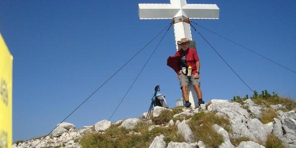 Gipfelfoto am Hochsengs
