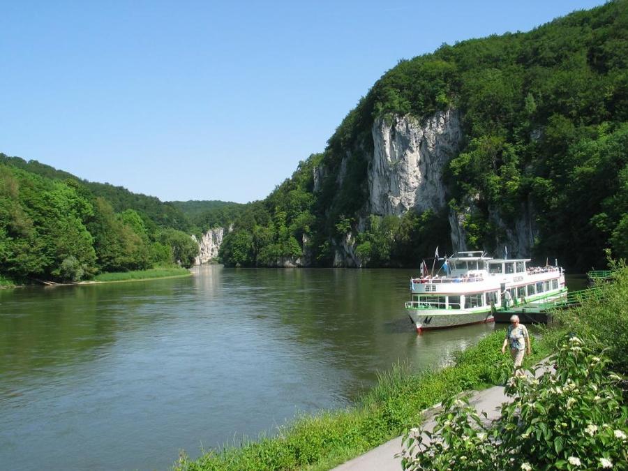 Donaudurchbruch Schiff