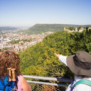 Ausblick Ödenturm Aussichtsplattform