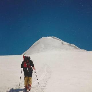 Aufstieg zum Gipfel des Simulaun