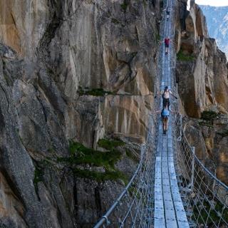 Auf der Salbitbrücke