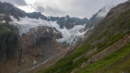 Blick auf den Chelengletscher