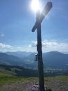 Das Gipfelkreuz auf der Reuter Wanne  - @ Autor: kUNO  - © Quelle: Tourismusverband Tannheimer Tal