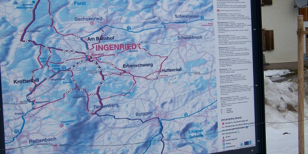 Infotafel in Ingenried.