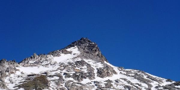 Blick auf den Gipfel des Weinschnabels