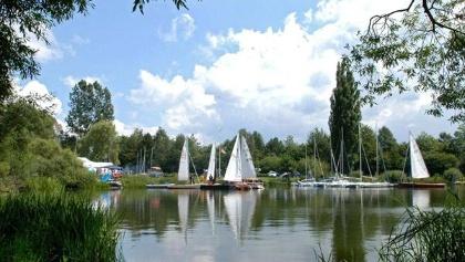 Breitenbacher See mit Segelbooten - © Magistrat der Stadt Bebra