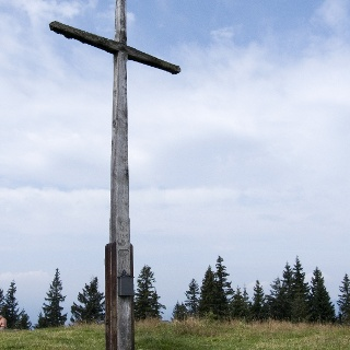 Am Gipfel des Rechelkopfes.