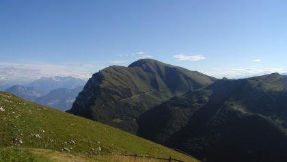 Der Monte Altissimo, die nördlichste Spitze des Monte Baldo-Massivs.